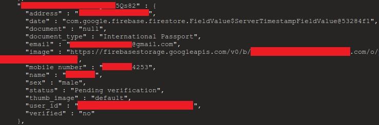 firebase data 2