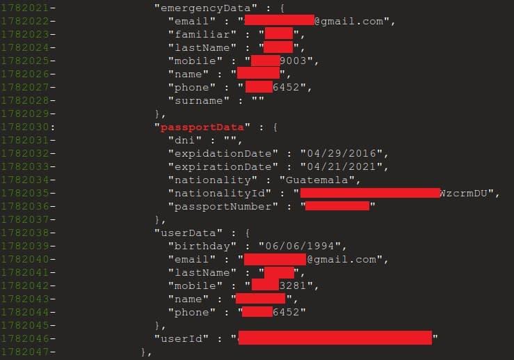 firebase data