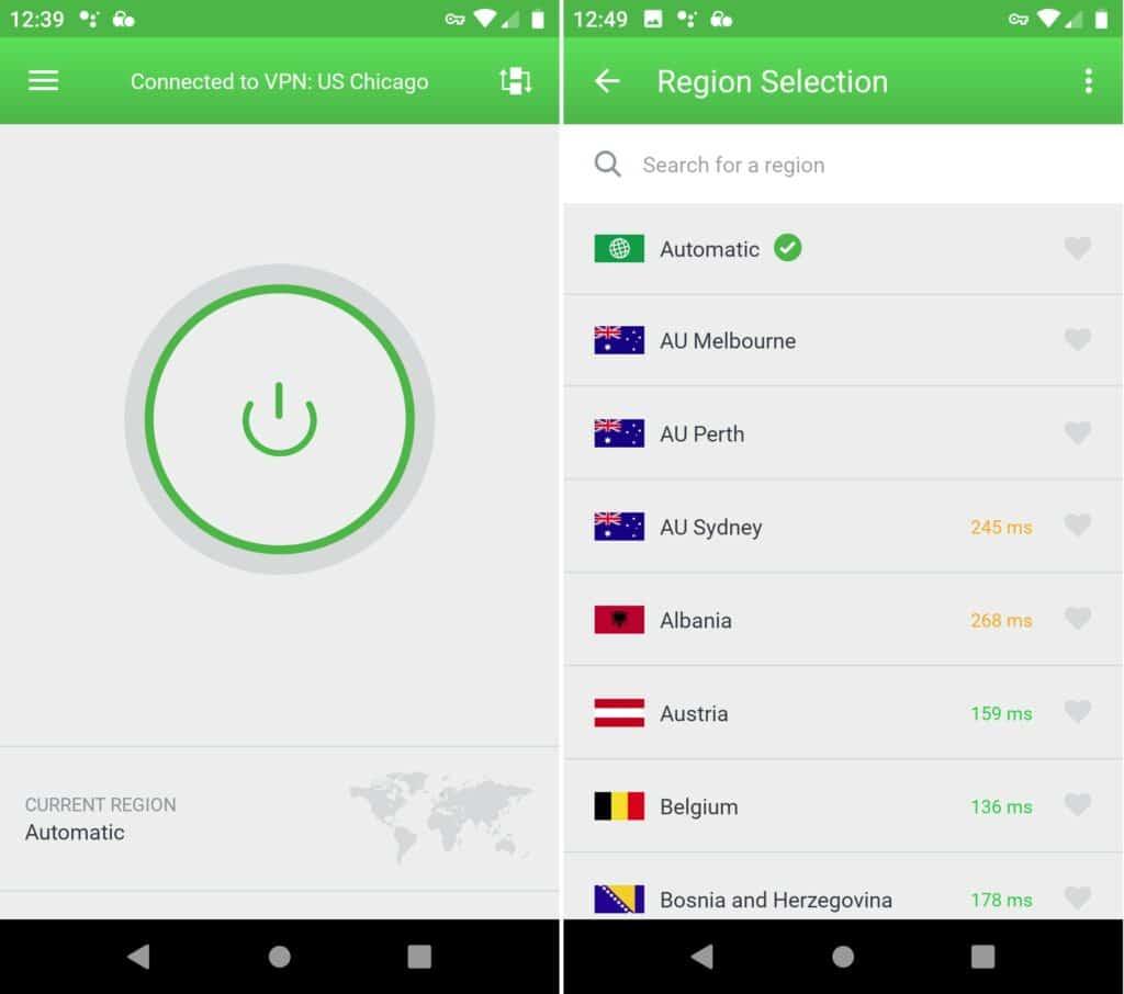 pia mobile servers