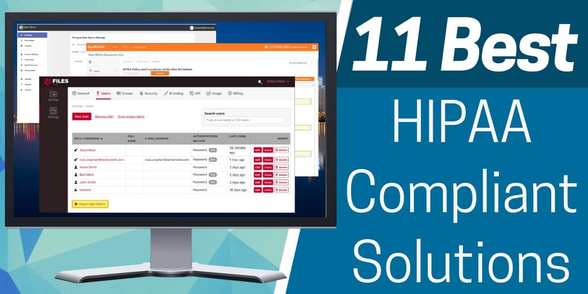 HIPAA Compliant Solutions