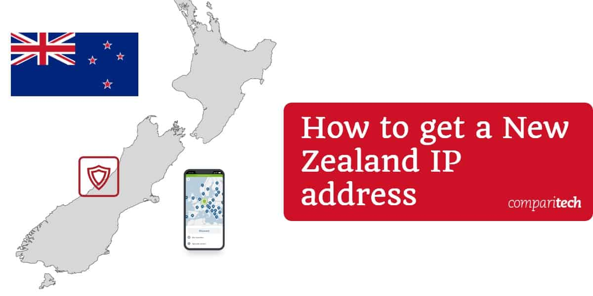 New Zealand IP address
