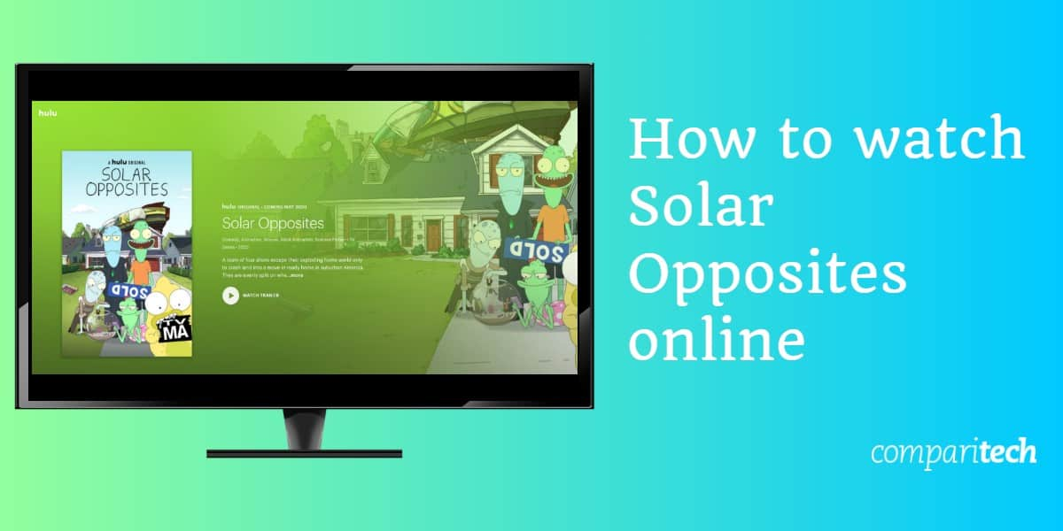 How to watch Solar Opposites online