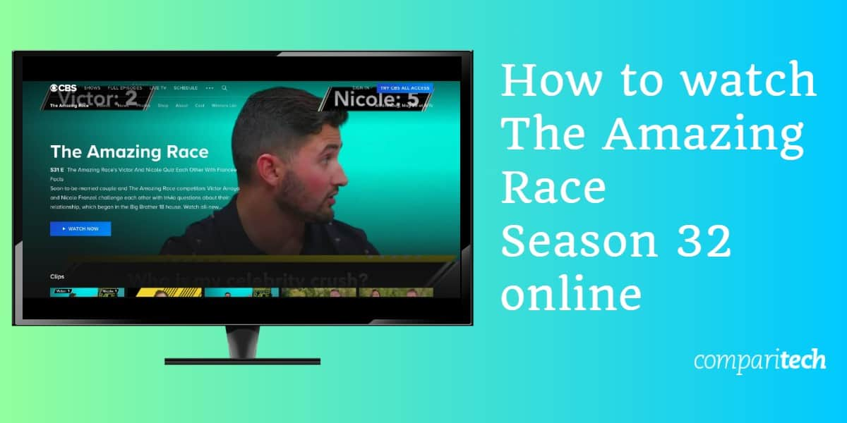 How to watch The Amazing Race Season 32 online