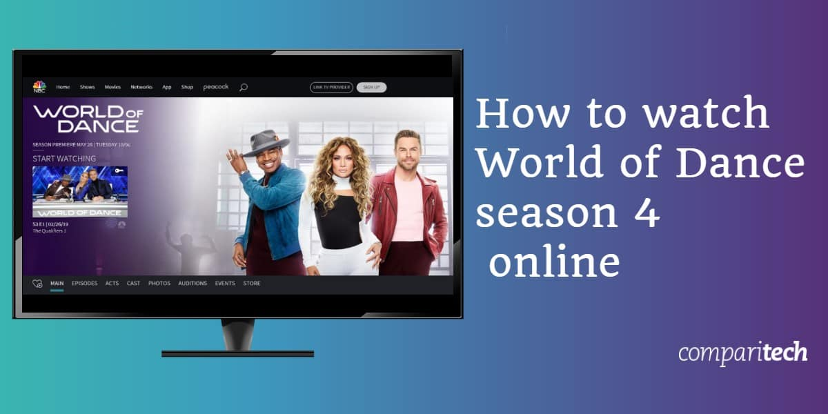 How to watch World of Dance season 4 online