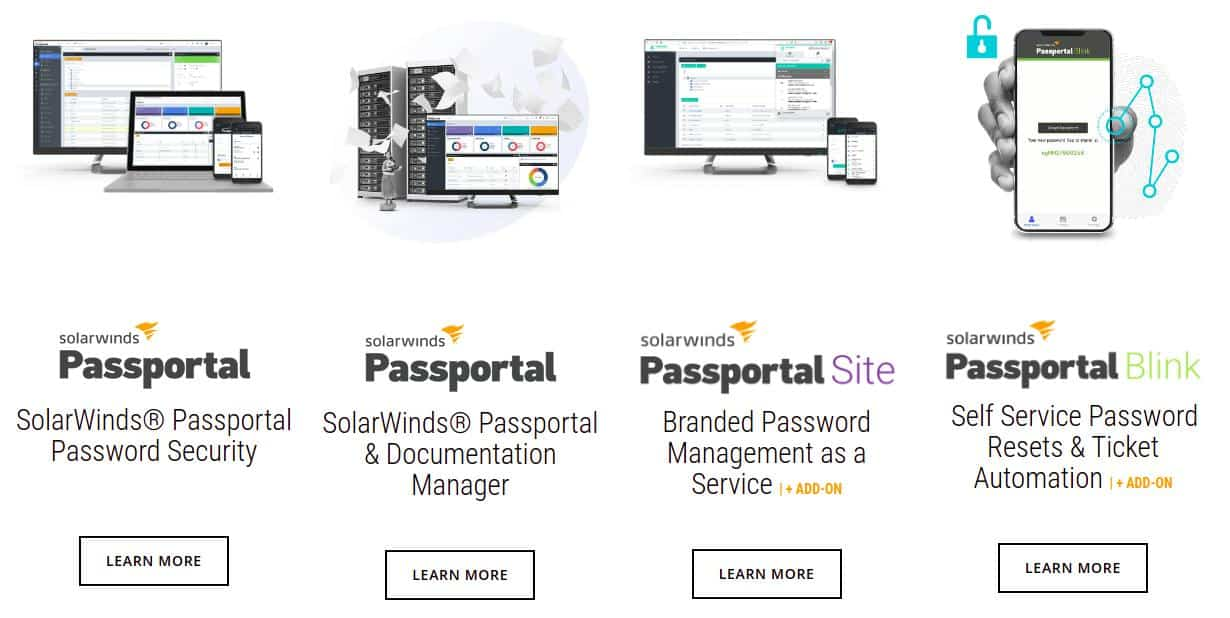 Passportal Product Suite