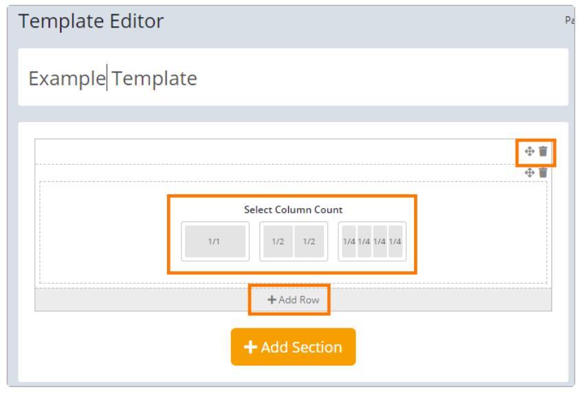Passportal Template Editor