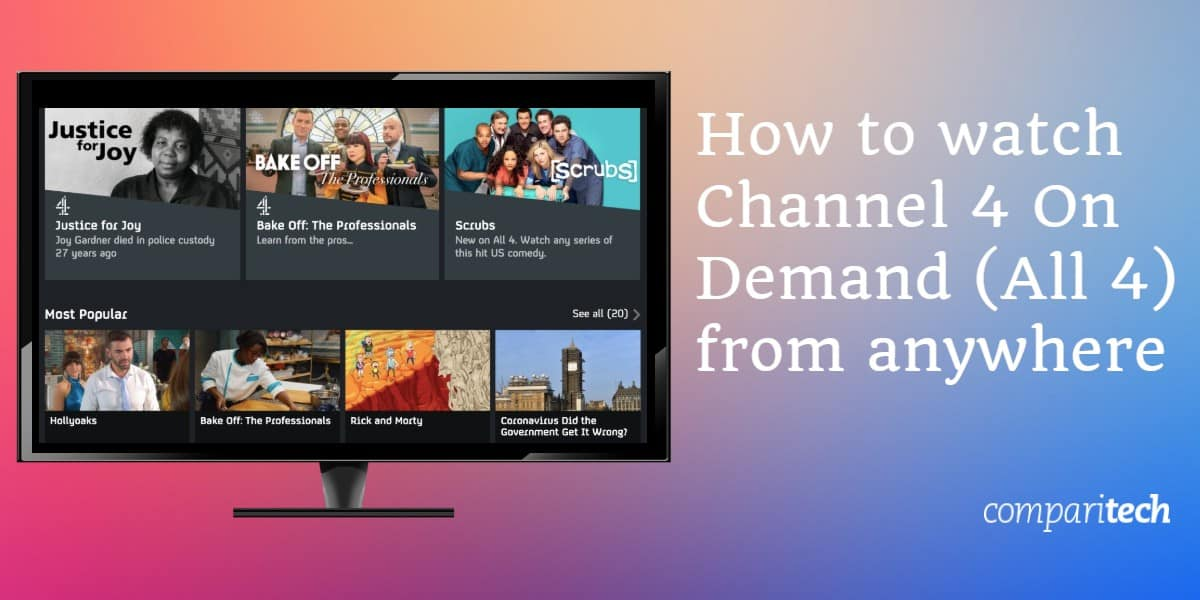 best vpn channel4 on demand