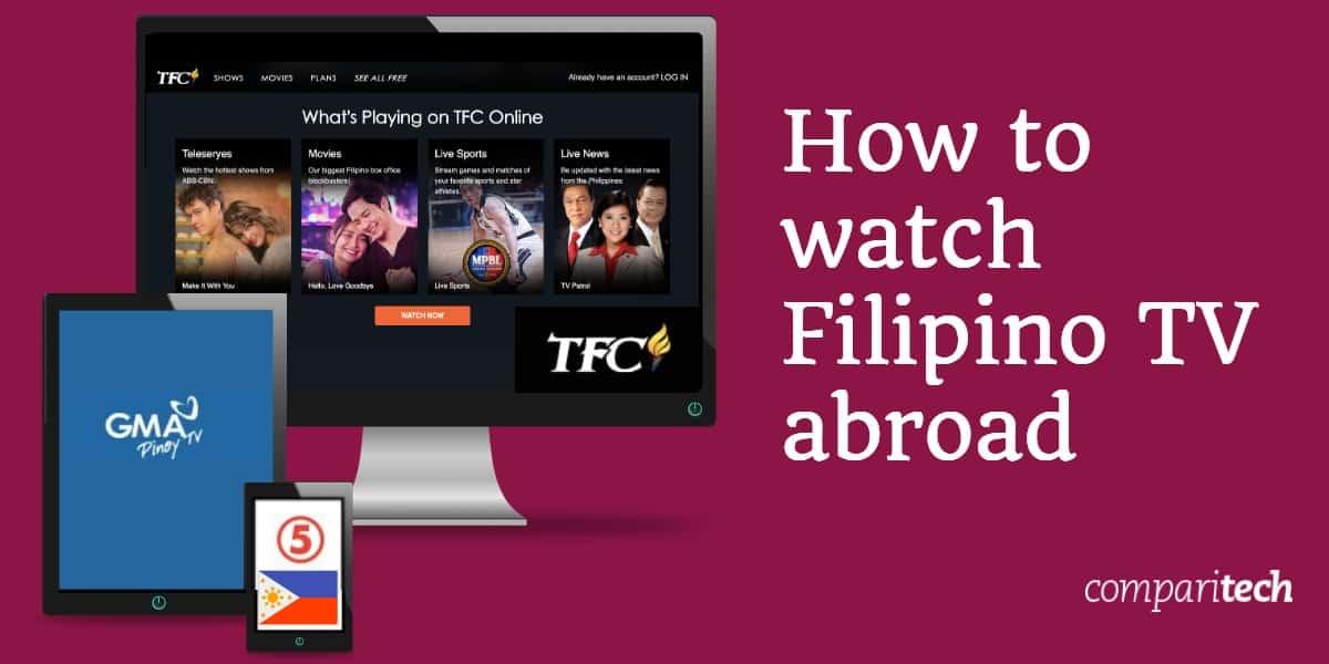 watch Filipino TV abroad