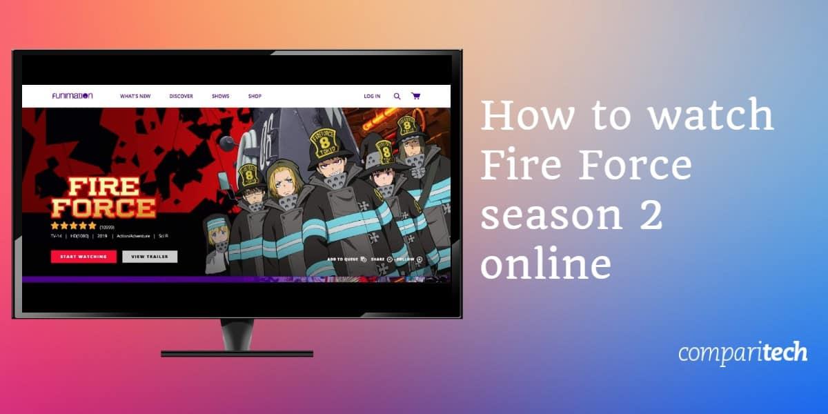 watch Fire Force season 2 online