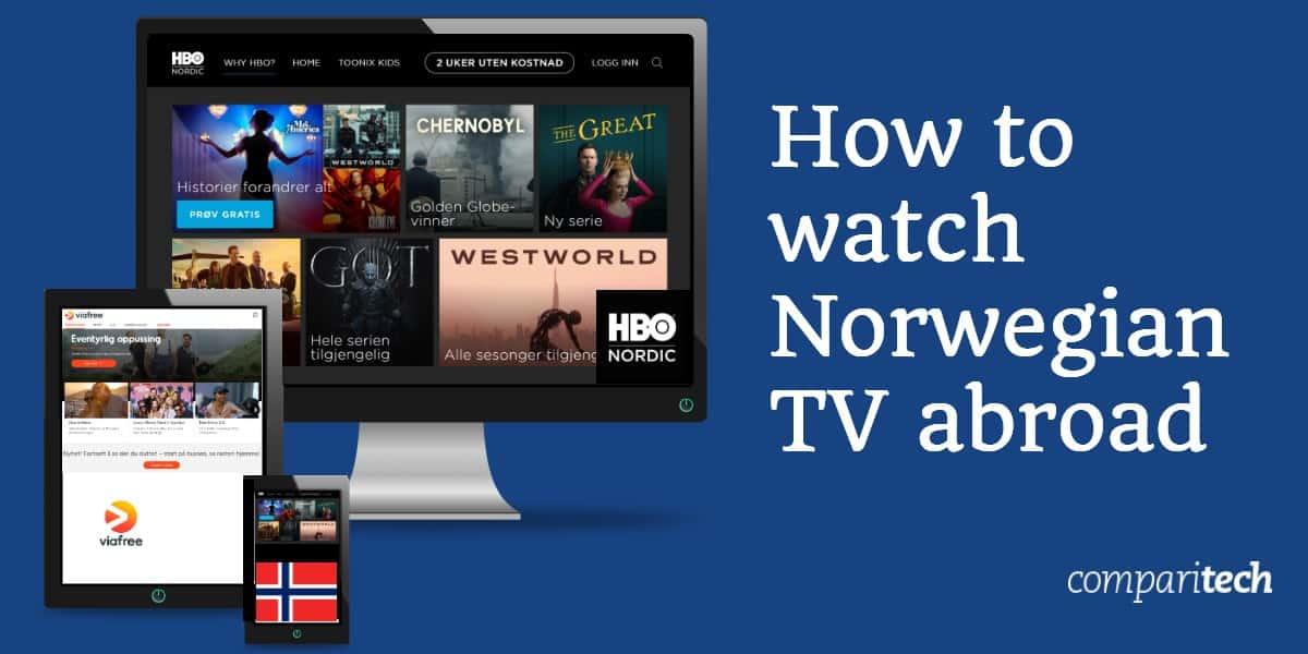 watch Norwegian TV abroad