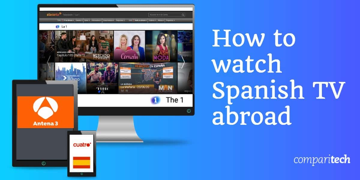 watch Spanish TV abroad
