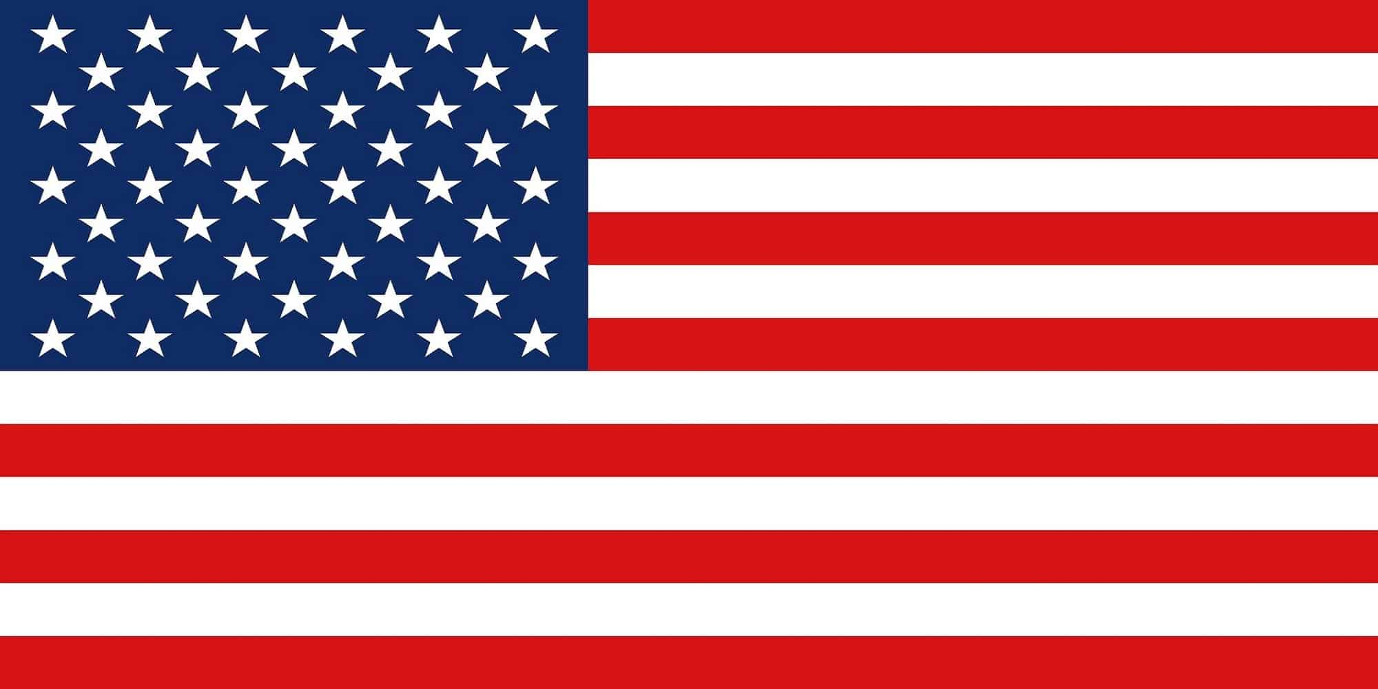 US flag - flag of the USA