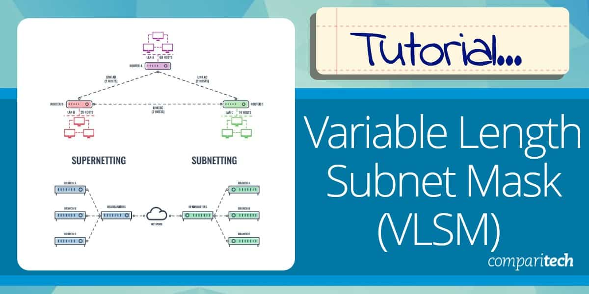 Variable Length Subnet Mask (VLSM) Tutorial