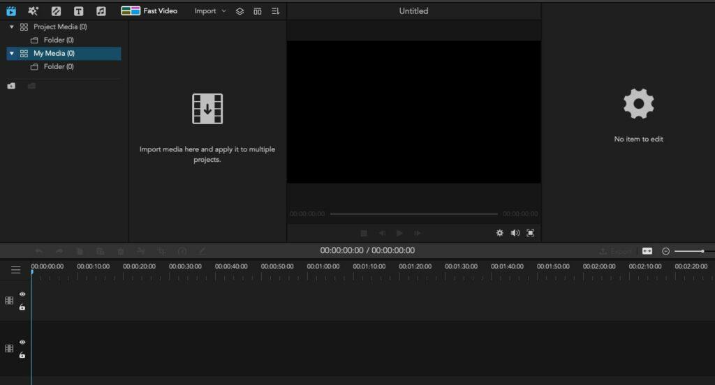 iMyFone video editor.