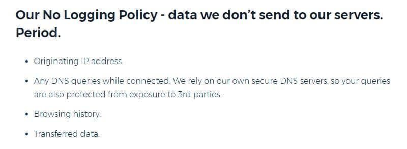 HideMyAss's new privacy policy.
