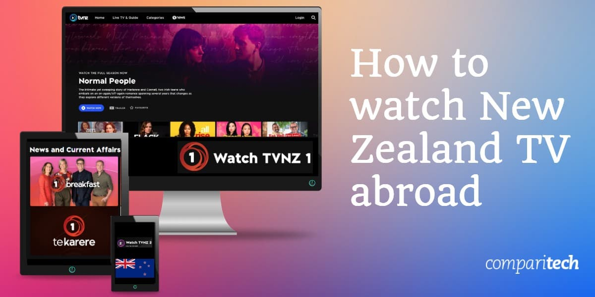 watch New Zealand TV abroad