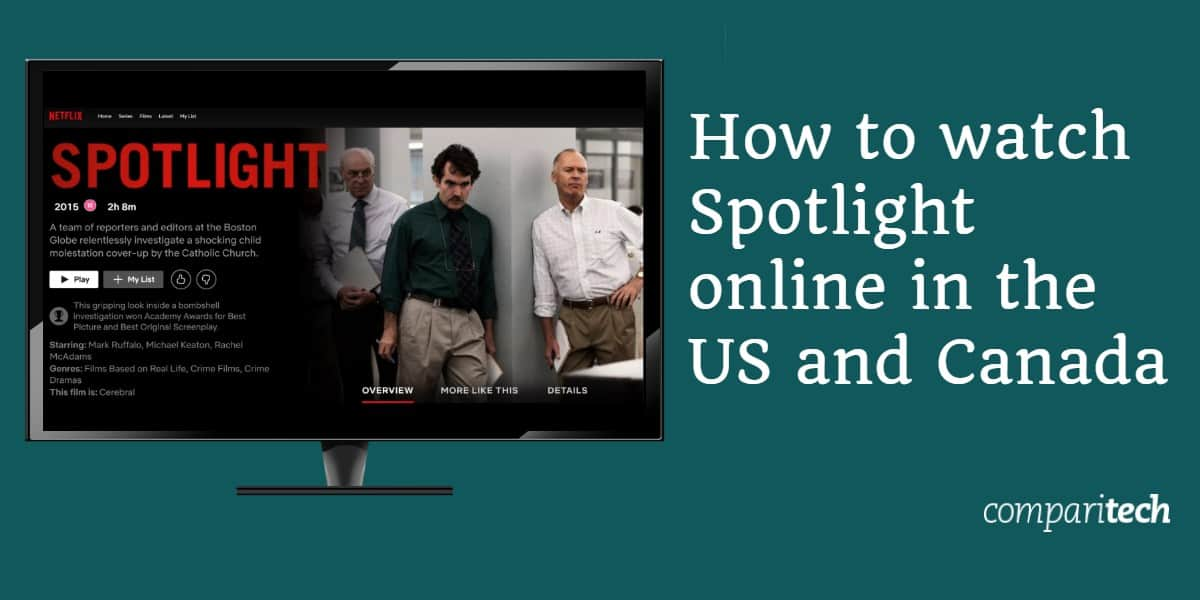How to watch Spotlight Movie Free online in the US and Canada