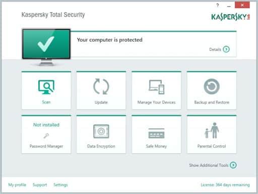 Kaspersky lab - Total security