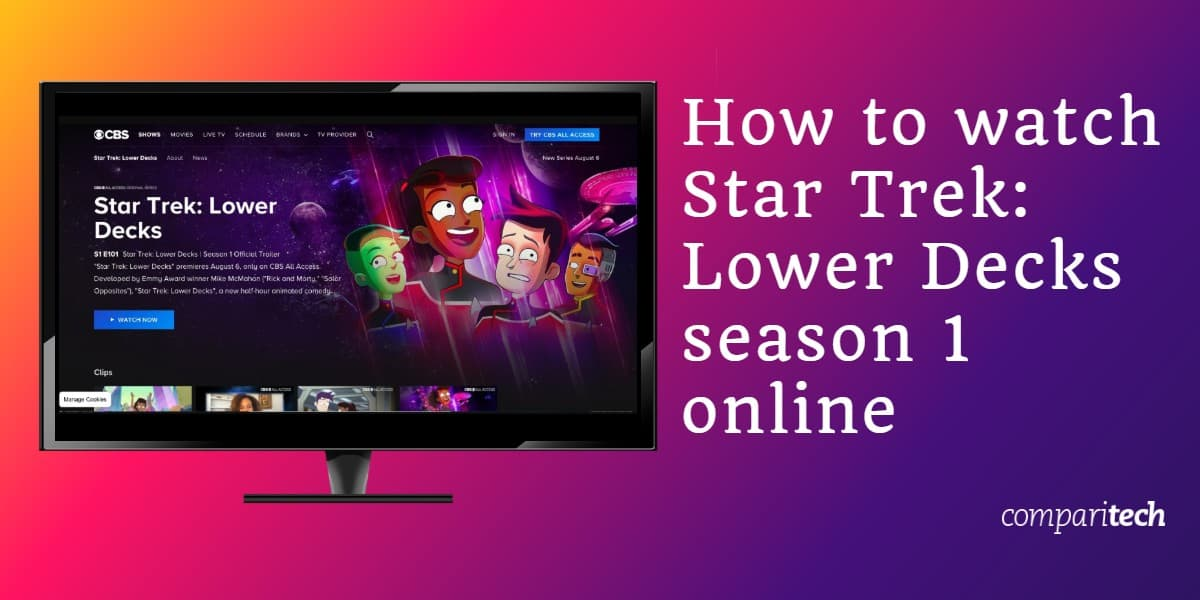 watch Star Trek Lower Decks online