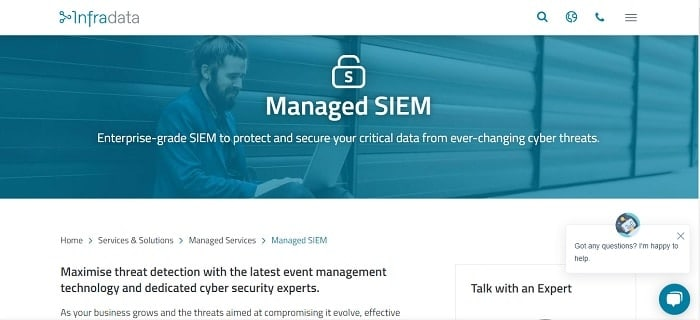 Infradata Managed SIEM