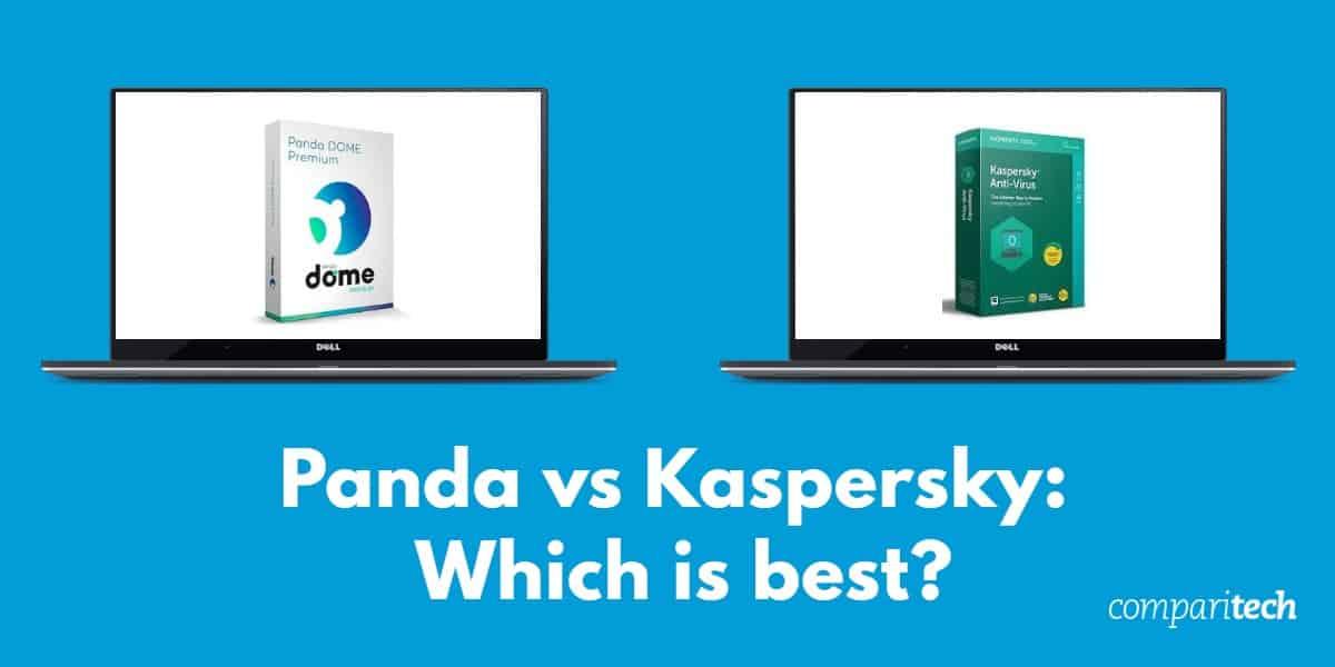 Panda vs Kaspersky