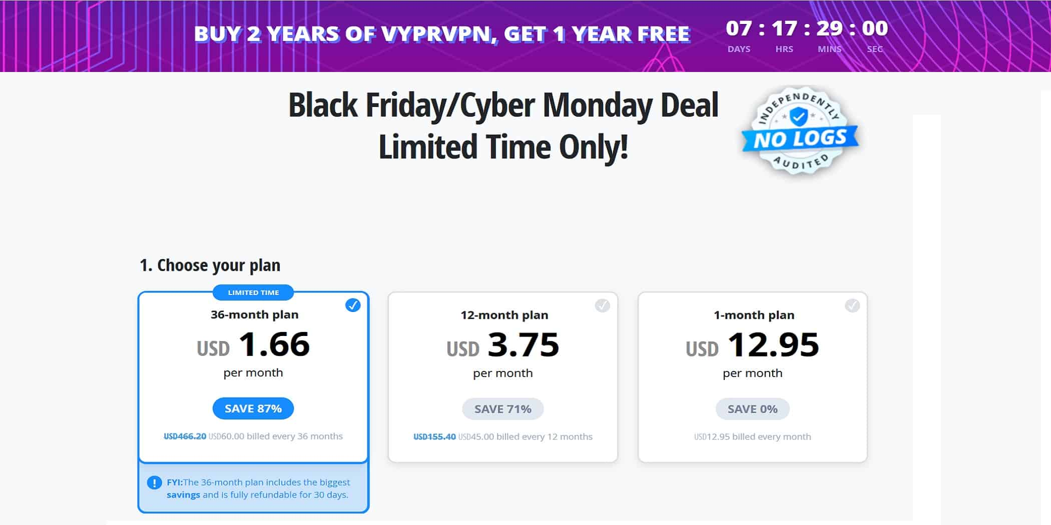 Black friday VyprVPN deal