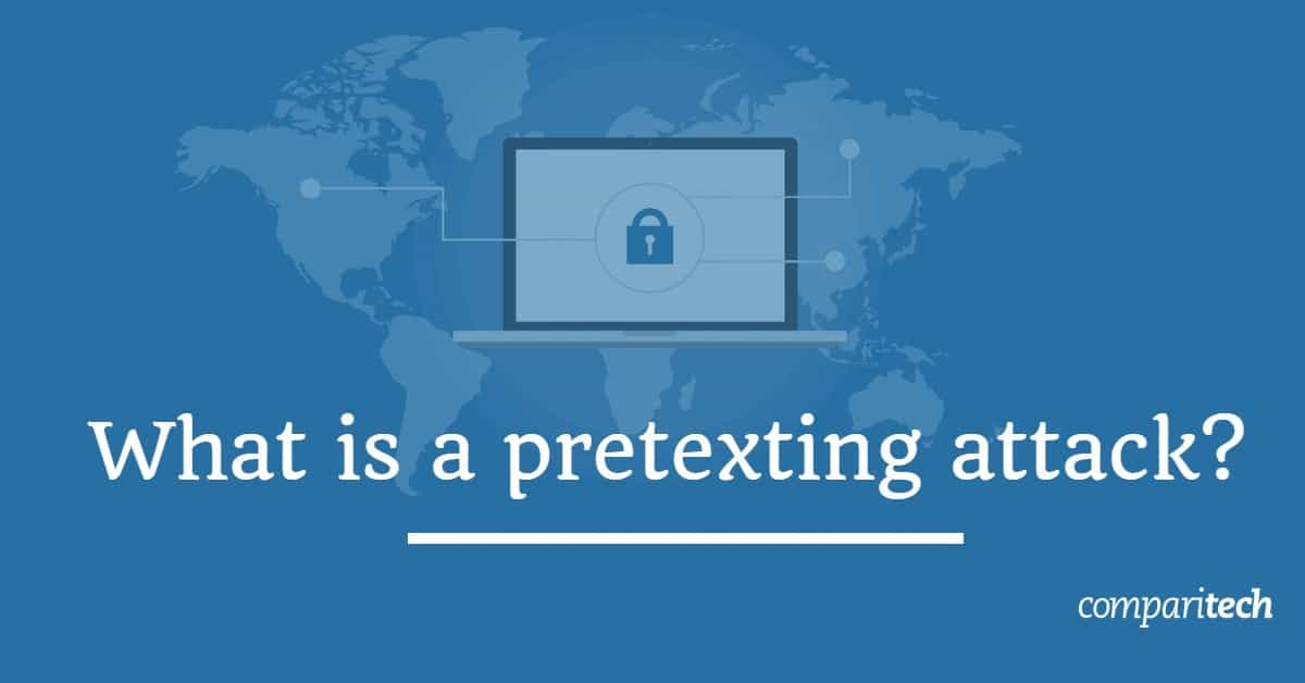 What is a pretexting attack (1)