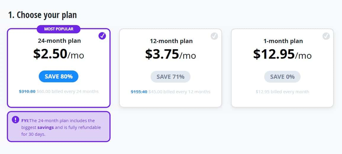 vypr vpn pricing