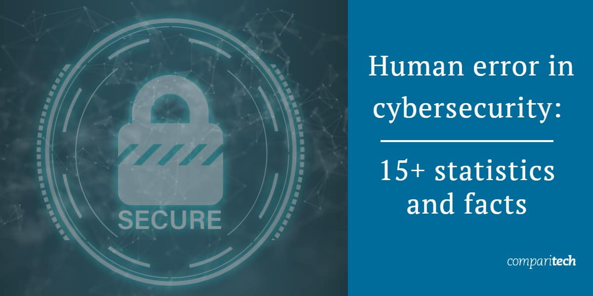 15 plus statistics and facts - human error in cybersecurity