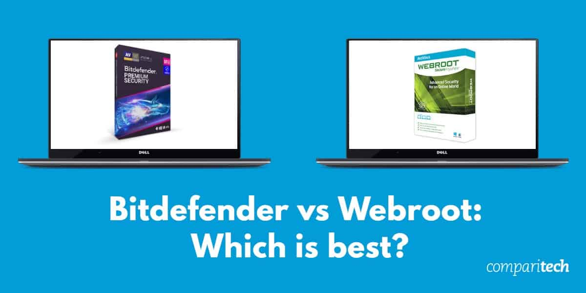 Bitdefender vs Webroot