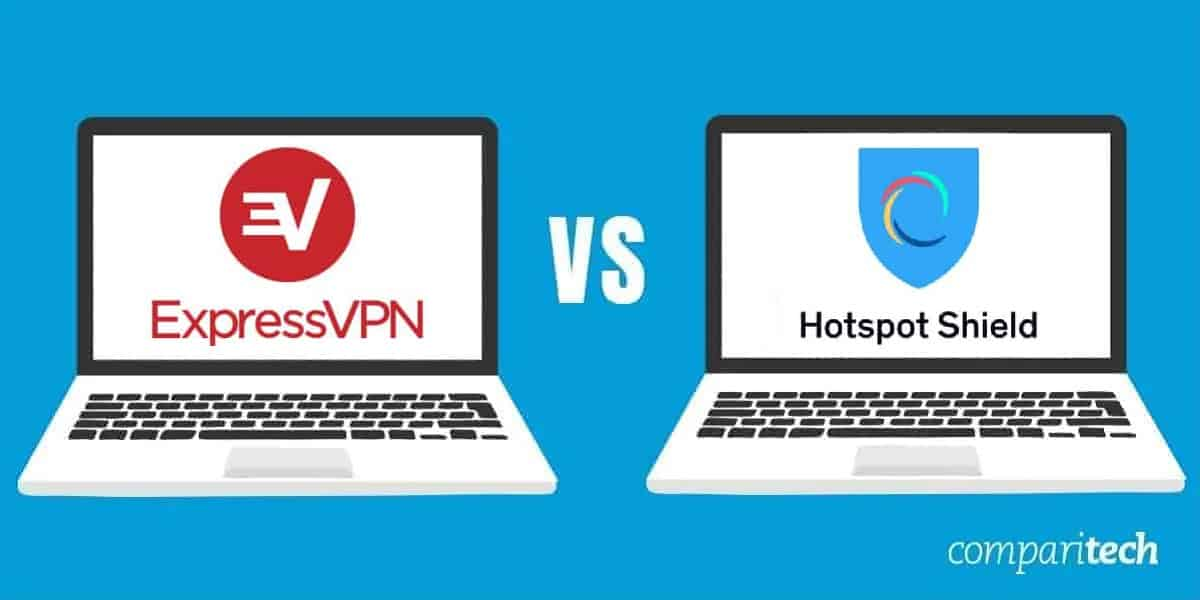 ExpressVPN vs Hotspot Shield review
