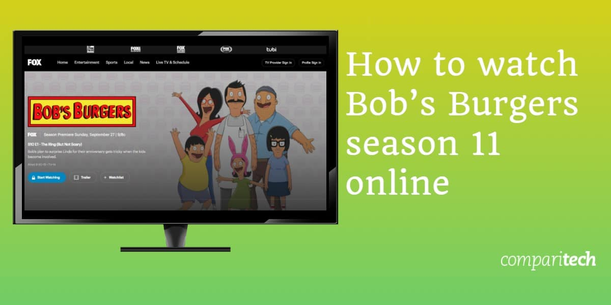 How to watch Bob's Burgers season 11 online