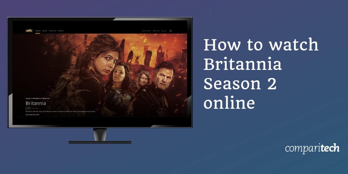 watch Britannia Season 2 online