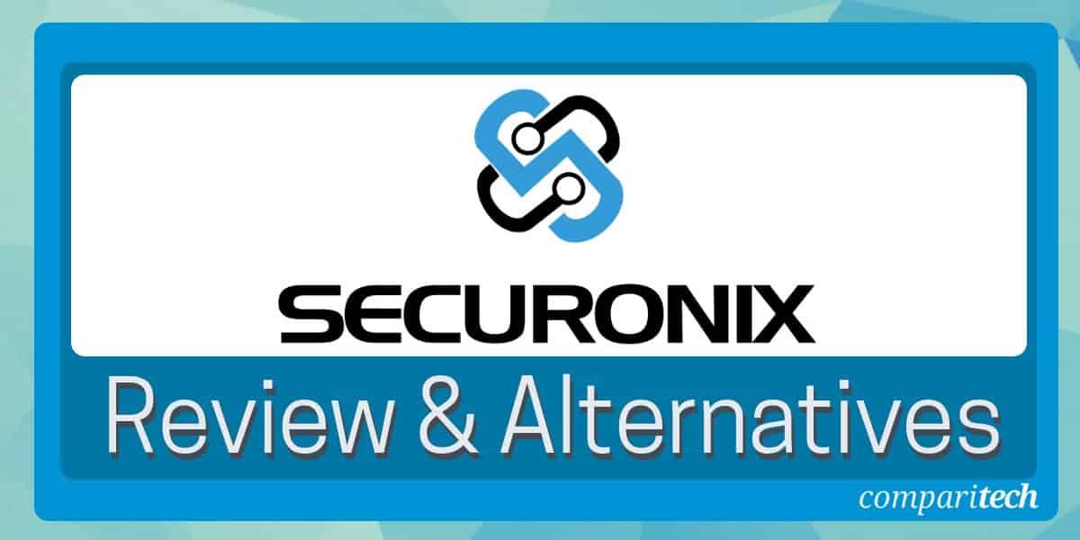 Securonix Review & Alternatives