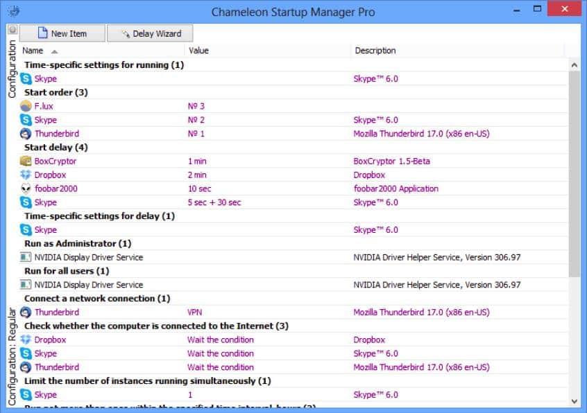 Chameleon Startup Manager Pro