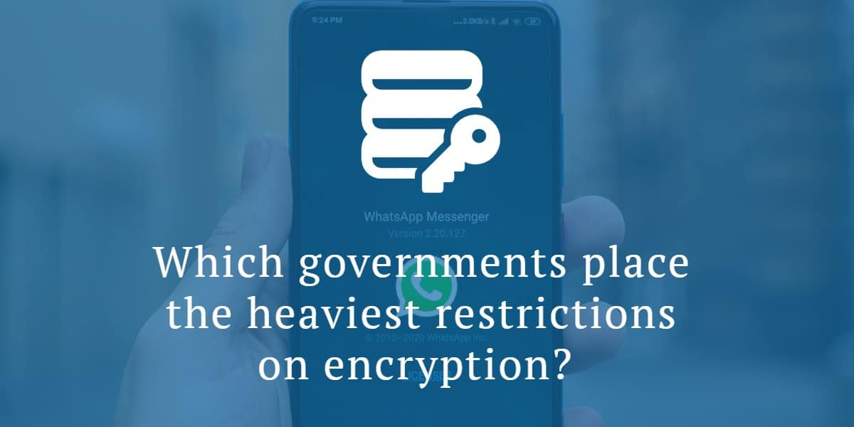 Encryption laws around the world