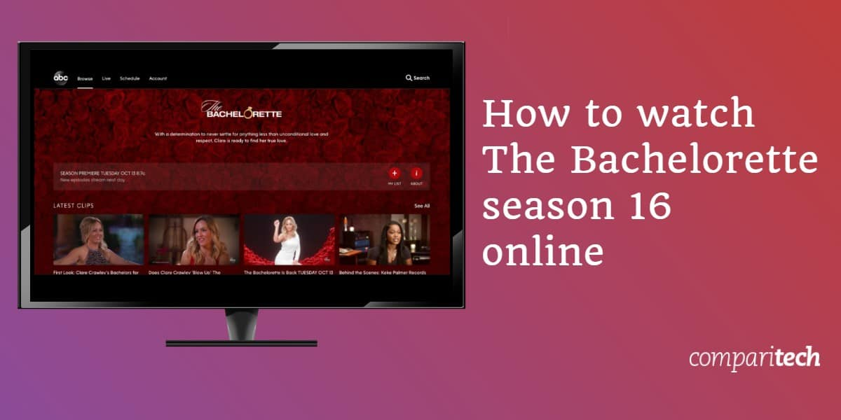 watch The Bachelorette season 16 online