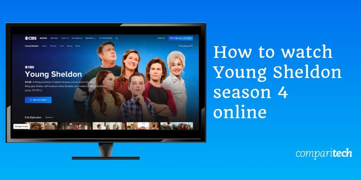 watch Young Sheldon season 4 online