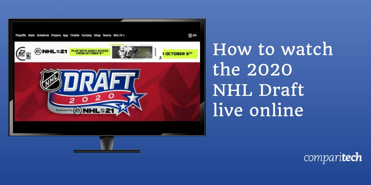 watch the 2020 NHL Draft live online