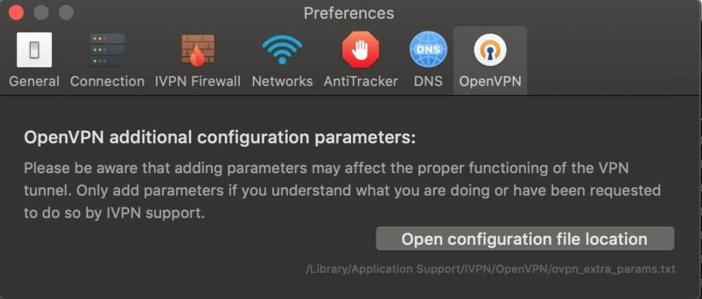 iVPN App - OpenVPN Extra