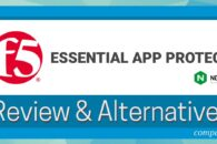 F5 Essential App Protect Review & Alternatives