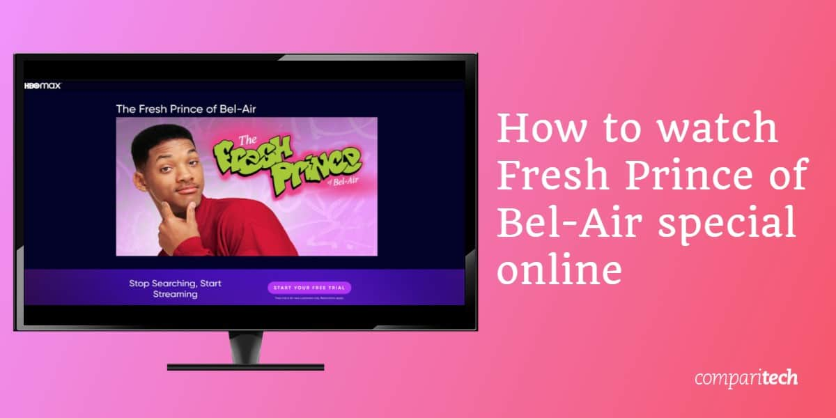 How to watch Fresh Prince of Bel-Air special online