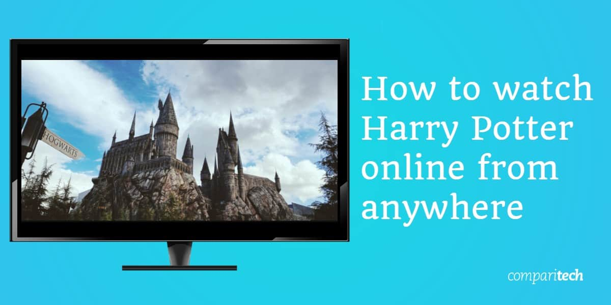 watch Harry Potter online from anywhere