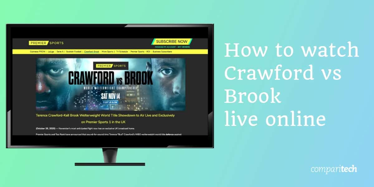 watch Terence Crawford vs Kell Brook live online