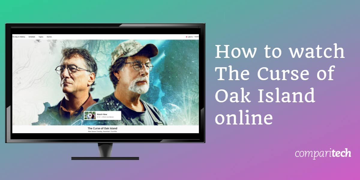 watch The Curse of Oak Island online