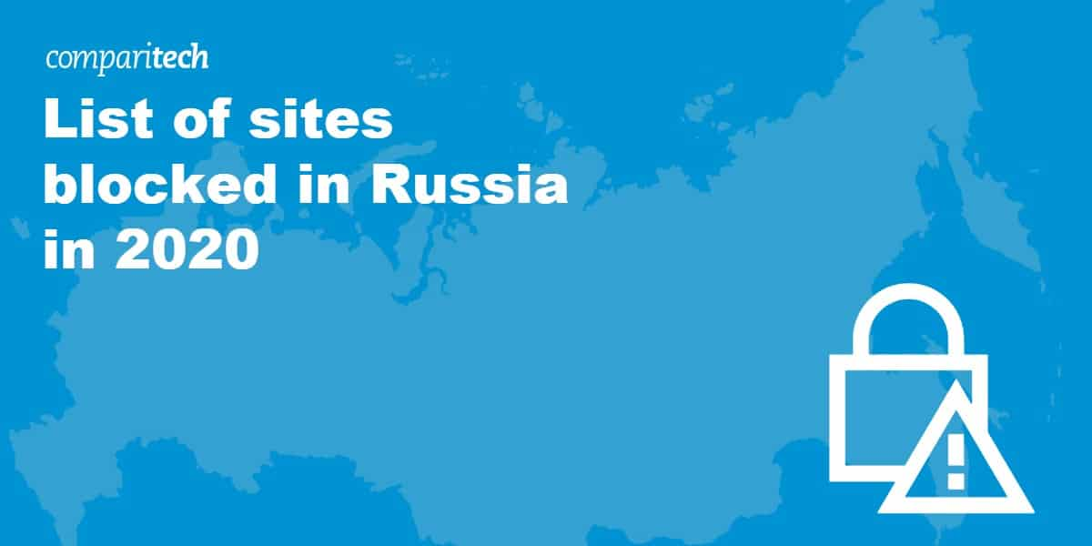 List of sites blocked in Russia in 2020
