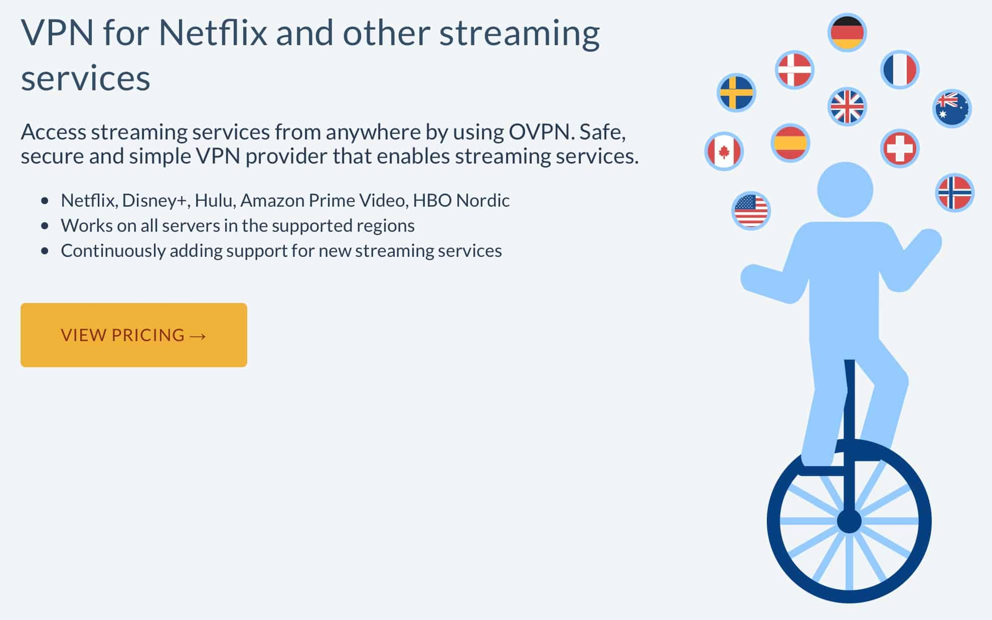 OVPN Streaming Marketing