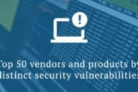 Top 50 vendors and products by security vulnerabilities