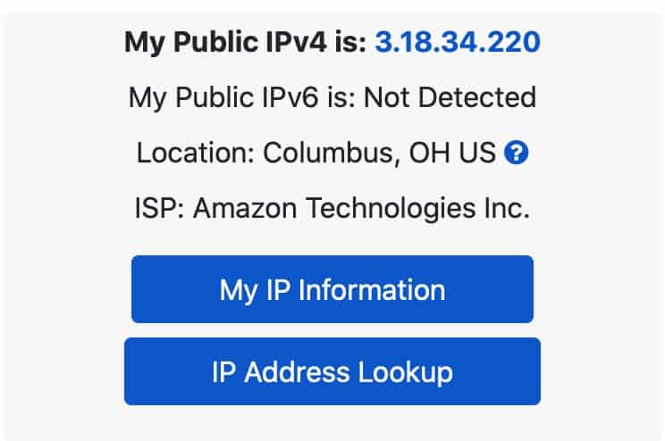 Twingate IP Address