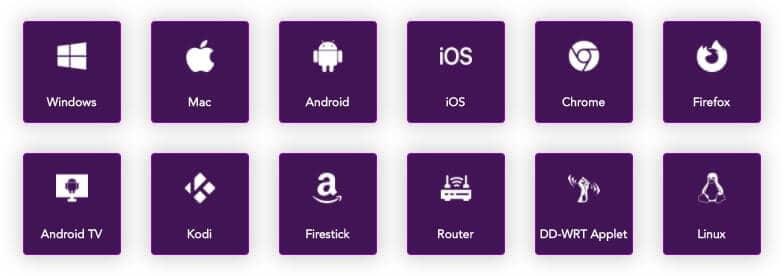 PureVPN apps.